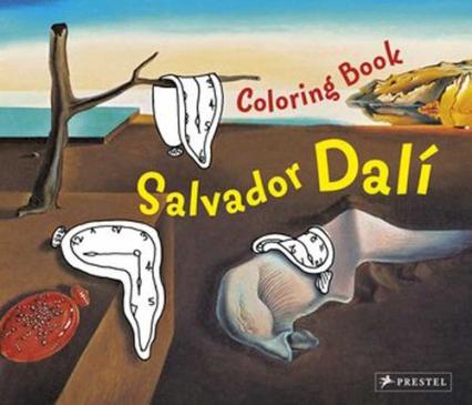 Coloring Book Salvador Dali - Doris Kutschbach | okładka