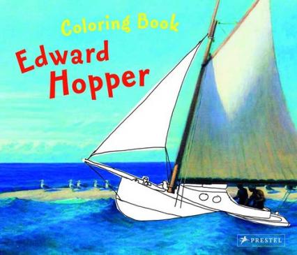 Coloring Book: Edward Hopper Edward Hopper - Doris Kutschbach | okładka