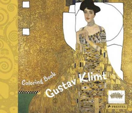 Coloring Book Gustav Klimt - Doris Kutschbach | okładka