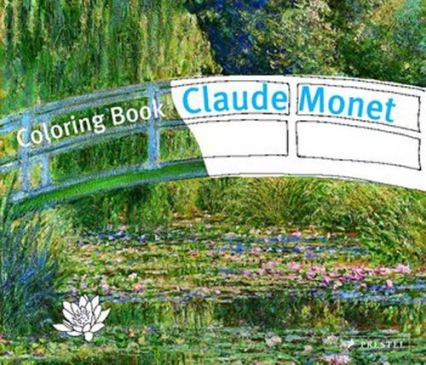 Coloring Book: Claude Monet Claude Monet - Doris Kutschbach | okładka