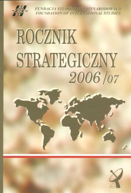 Rocznik strategiczny 2006/2007 -    okładka