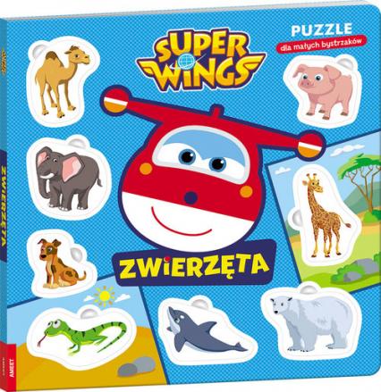 Super Wings Puzzle dla małych bystrzaków Zwierzęta ELE-3101 -  | okładka