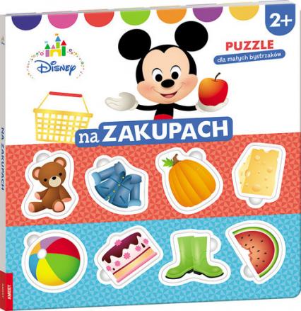 Disney Puzzle dla małych bystrzaków Na zakupach ELE-9201 -  | okładka