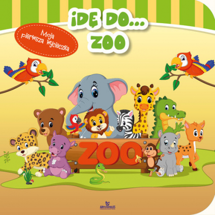 Idę do zoo - Ewa Giermek | okładka