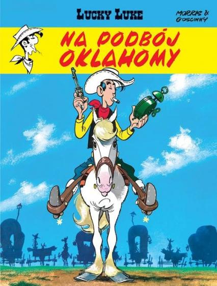 Lucky Luke Na podbój Oklahomy Tom 14 - René Goscinny | okładka
