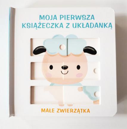 Moja pierwsza książeczka z układanką - małe zwierzątka -  | okładka