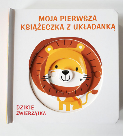 Moja pierwsza książeczka z układanką - dzikie zwierzęta -  | okładka