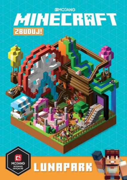 Minecraft Zbuduj! Lunapark - Stephanie Milton | okładka