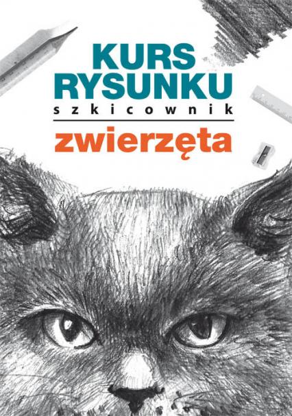 Kurs rysunku Szkicownik Zwierzęta - Mateusz Jagielski   okładka