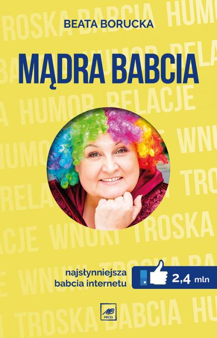 Mądra Babcia - Beata Borucka | okładka