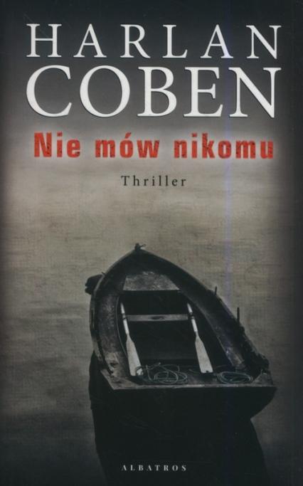 Nie mów nikomu - Harlan Coben   okładka