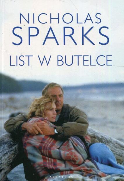 List w butelce - Nicholas Sparks   okładka