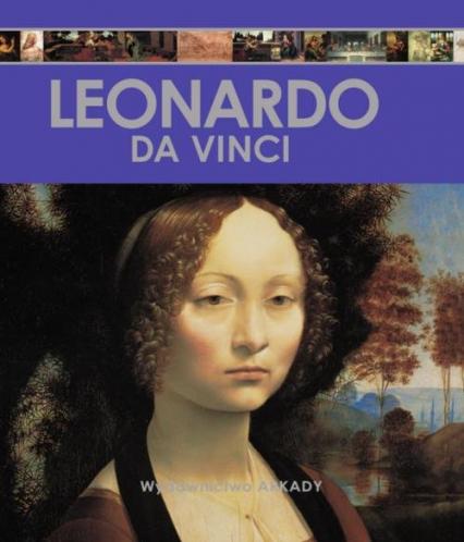 Encyklopedia sztuki Leonardo da Vinci - Sánchez Laura Gracia | okładka
