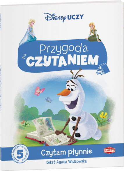 Kraina Lodu Przygoda z czytaniem Czytam płynnie - Agata Widzowska | okładka