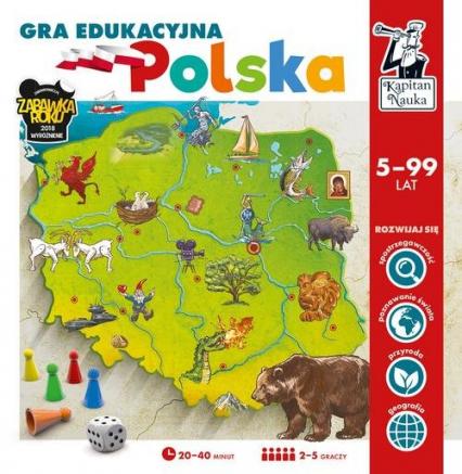 Kapitan Nauka Gra edukacyjna Polska - zbiorowa praca | okładka