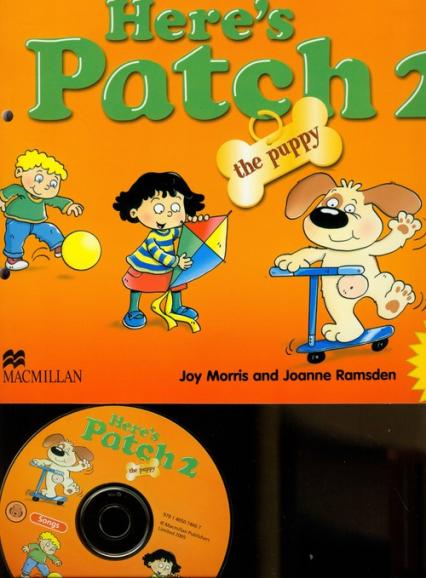 Here's Patch the Puppy 2 + CD - Morris Joy, Ramsden Joanne   okładka