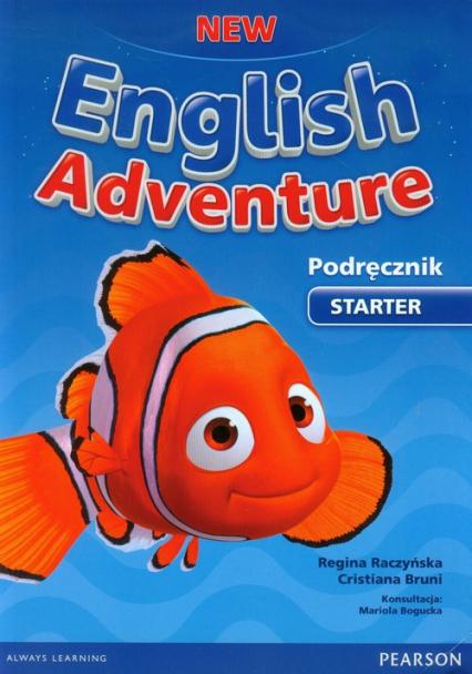 New English Adventure Starter Podręcznik z płytą DVD - Bruni Cristiana, Raczyńska Regina | okładka