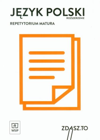 Język polski Repetytorium Matura Zakres rozszerzony -  | okładka