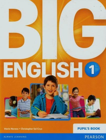 Big English 1 Podręcznik - Herrera Mario, Sol Cruz Christopher   okładka
