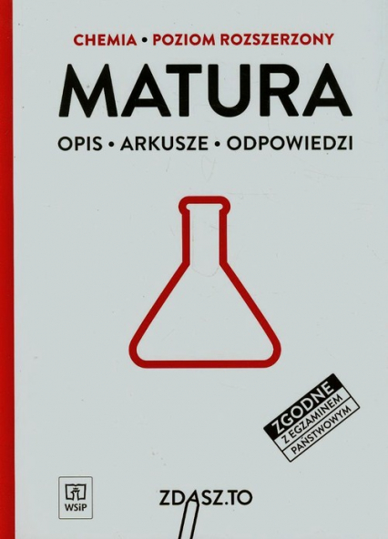 Matura Chemia Poziom rozszerzony Opis, arkusze, odpowiedzi -    okładka