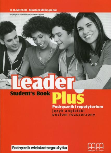 Leader Plus Podręcznik + repetytotium Poziom rozszerzony + CD - Mitchell H.Q., Malkogianni Marileni, Łątka Maria | okładka