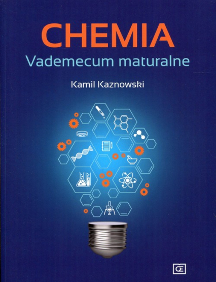 Chemia Vademecum maturalne - Kamil Kaznowski   okładka