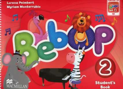 Bebop 2 Student's Book - Peimbert Lorena, Monterrubio Myriam | okładka