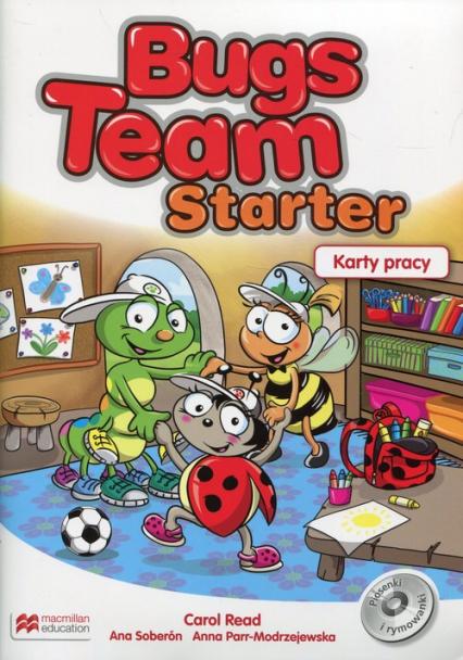 Bugs Team Starter Karty pracy - Read Carol, Soberon Ana, Parr-Modrzejewska Anna | okładka