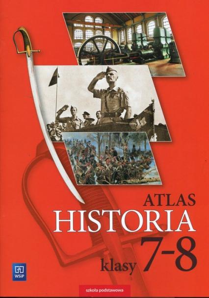 Historia Atlas 7-8 Szkoła podstawowa -  | okładka