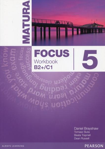 Matura Focus 5 Workbook Poziom B2+/C1 -  | okładka