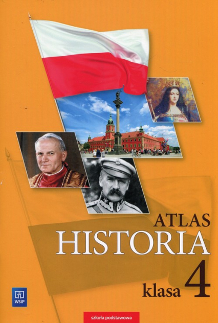Historia Atlas 4 Szkoła podstawowa -  | okładka