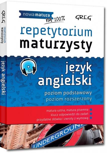Repetytorium maturzysty język angielski + CD - Ciężkowska-Gajda Dorota, MacIsaac Daniela | okładka