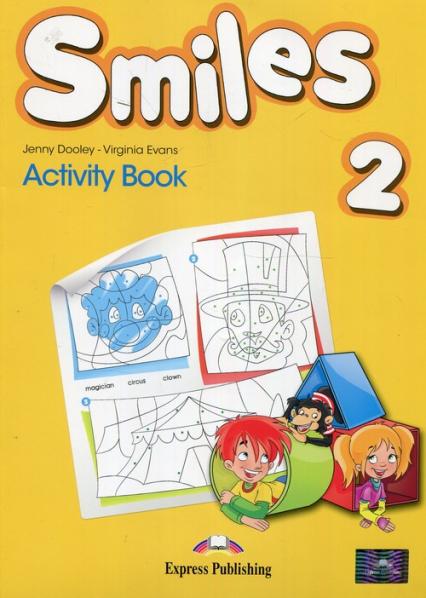 Smiles 2 Activity Book - Dooley Jenny, Evans Virginia | okładka