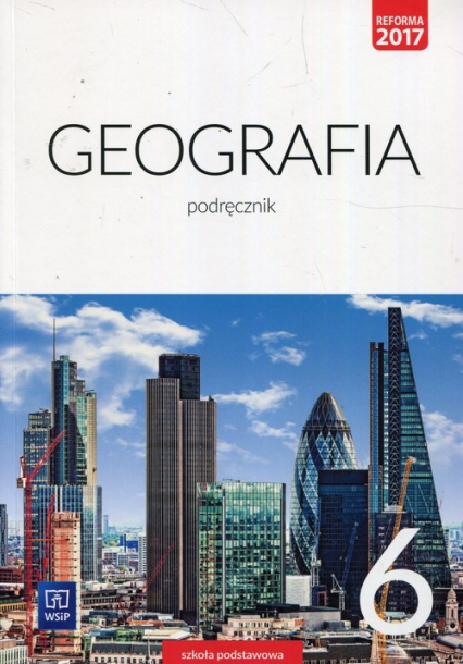 Geografia 6 Podręcznik Szkoła podstawowa - Lechowicz Agnieszka, Stankiewicz Piotr, Głowacz Arkadiusz   okładka