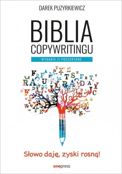 Biblia copywritingu - Dariusz Puzyrkiewicz | okładka