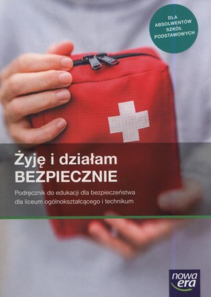 Żyję i działam bezpiecznie Podręcznik Szkoła ponadpodstawowa - Jarosław Słoma   okładka