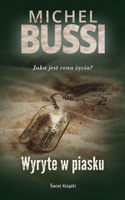 Wyryte w piasku - Michel Bussi | okładka