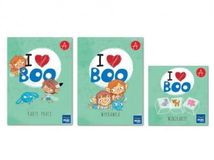 I love Boo Język angielski poziom A+ Pakiet dla dziecka -  | okładka