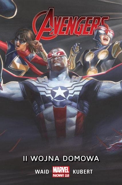 II wojna domowa Avengers - Mark Waid | okładka