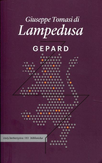 Gepard - Lampedusa Giuseppe Tomasi di | okładka