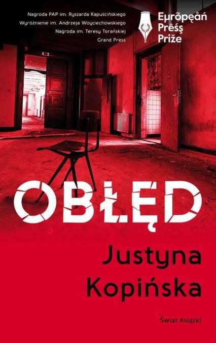 Obłęd - Justyna Kopińska | okładka
