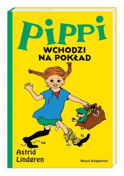 Pippi wchodzi na pokład - Astrid Lindgren | okładka