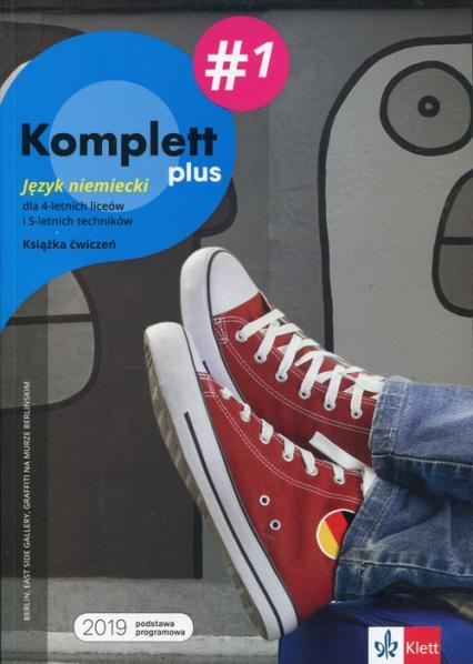 Komplett plus 1 Książka ćwiczeń + DVD + CD Szkoła ponadpodstawowa. Liceum i technikum - Montali Gabriella, Mandelli Daniela, Czernohous Linzi Nadja, Niebrzydowska Bożena | okładka