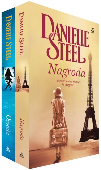 Pakiet 2 książek Nagroda + Obsada - Danielle Steel | okładka