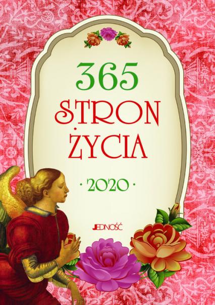 365 stron życia 2020 - Wrona Justyna, Wołącewicz Hubert, oprac. | okładka
