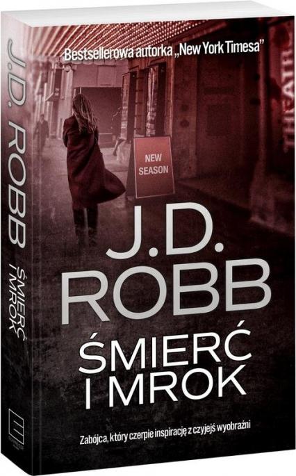 Śmierć i mrok - J.D Robb | okładka