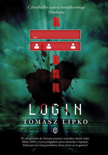 Login - Tomasz Lipko   okładka