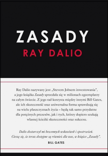 Zasady - Ray Dalio | okładka
