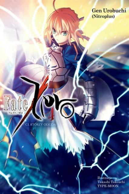 Fate/Zero #04 - Gen Urobuchi | okładka