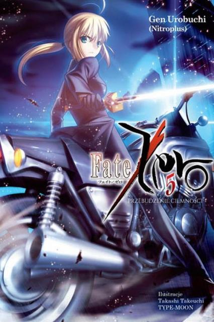 Fate/Zero #05 - Gen Urobuchi | okładka